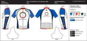 2xu applause cycling shirt